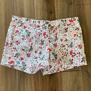 GAP Floral Summer Chino Shorts
